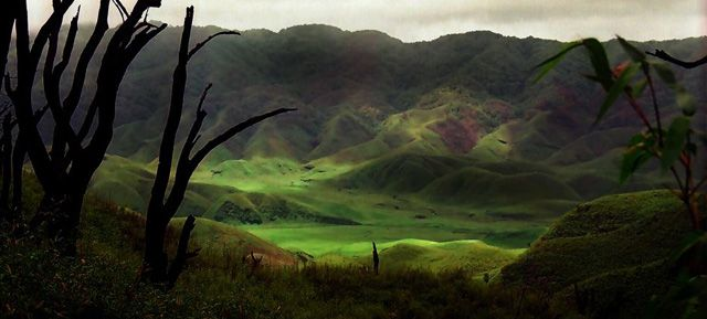 A valley in Manipur
