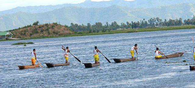 Boating in Loktak Lake - Manipur