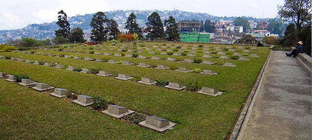 Second World War Memorial at Kohima