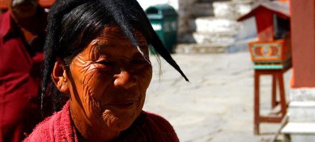 Monpa Lady of Arunachal